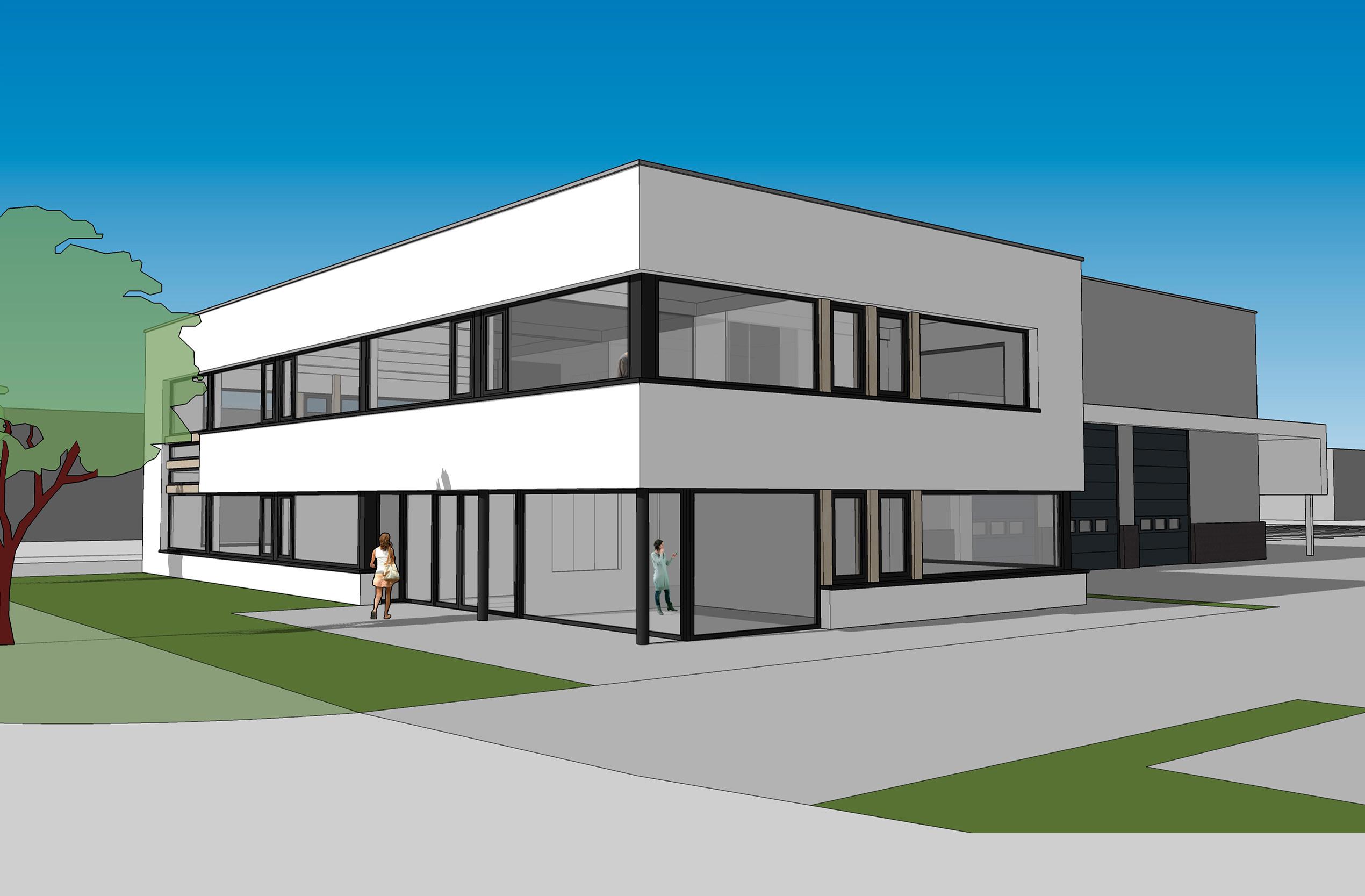 Kantoor met bedrijfsruimte ETC Holland
